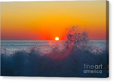 Moment In Time Canvas Print by Allan Levin