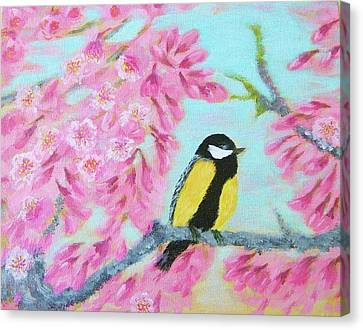 Moment Of Spring Canvas Print by Larysa Kalynovska