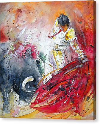 Moment Of Truth 2010 Canvas Print by Miki De Goodaboom