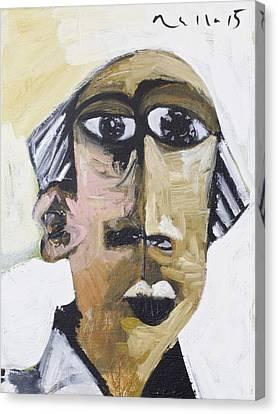 Art Brut Canvas Print - Momentis Th Old Man by Mark M  Mellon