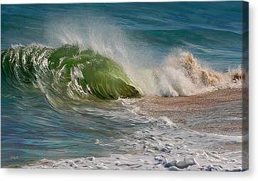 Momentum Canvas Print by Sue  Brehant