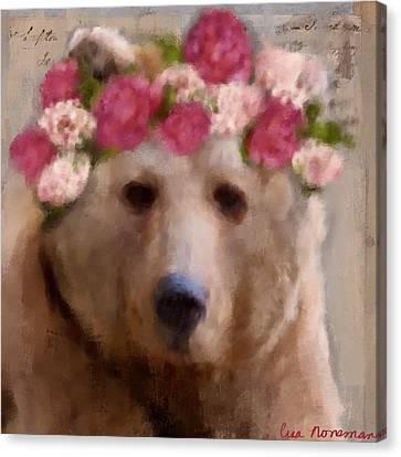 Momma Bear Canvas Print