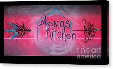 Momma's Kitchen  Canvas Print by Talisa Hartley