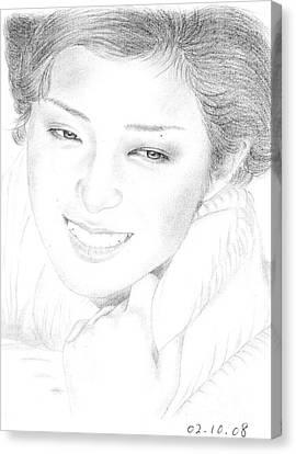 Momoe Yamaguchi Canvas Print