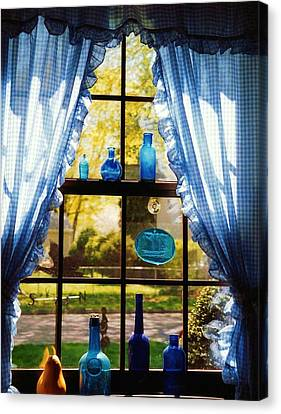 Mom's Kitchen Window Canvas Print by John Scates