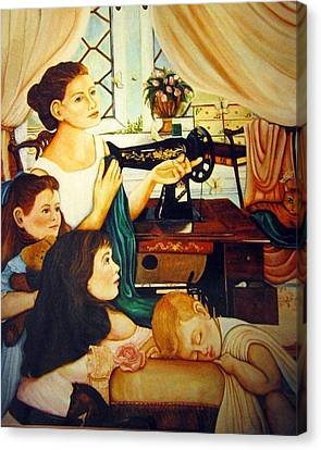 Mom's Sewing Room  Canvas Print