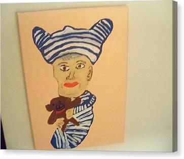 Mom's The Baby Canvas Print by Rhonda Jackson