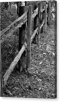 Canvas Print featuring the photograph Momvisitfence-carterlane by Curtis J Neeley Jr