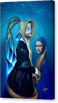 Mona Eelsa Canvas Print by Patrick Anthony Pierson