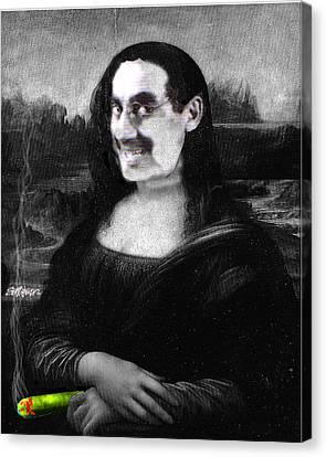 Mona Grouchironi Canvas Print by Seth Weaver