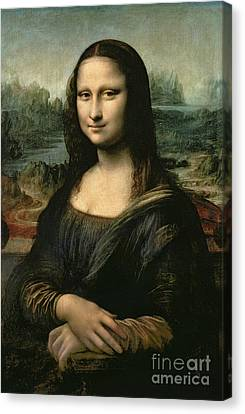 End Canvas Print - Mona Lisa by Leonardo da Vinci