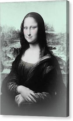 Mona Lisa Reimagined Canvas Print