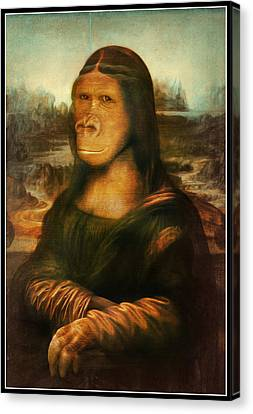 Mona Rilla Canvas Print by Gravityx9 Designs