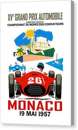 Monaco 1957 Canvas Print