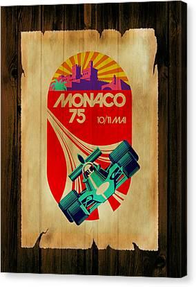 Monaco 1975 Canvas Print by Mark Rogan