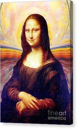 Monalisa Canvas Print by Art Gallery