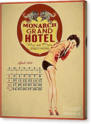 Monarch Grand Hotel Canvas Print by Cinema Photography