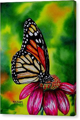Monarch Canvas Print by Maria Barry