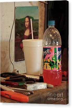 Canvas Print featuring the photograph Monas Sodas by Joe Jake Pratt