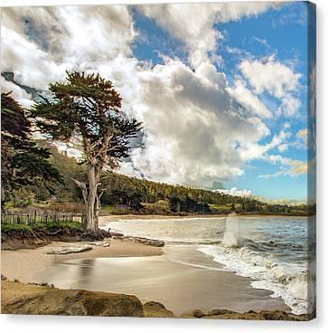 Whalers Cove Canvas Print - Monastery Cove Cyprus II by Jeri Sawall