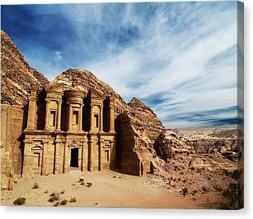 Petra Canvas Print - Monastery by Julian Kaesler