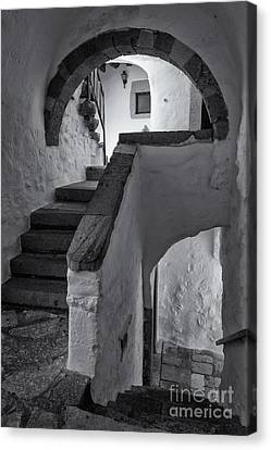 Monastery Of Saint John The Theologian Canvas Print by Inge Johnsson