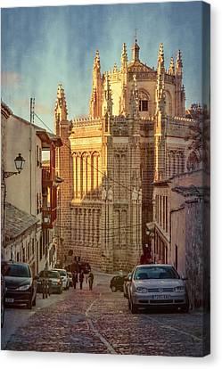 Monastery Of San Juan De Los Reyes Canvas Print