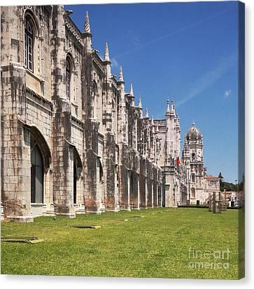 Monastery Of The Hieronymites Lisbon 3 Canvas Print by Rudi Prott