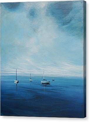 Monday Morning Canvas Print by Michele Hollister - for Nancy Asbell