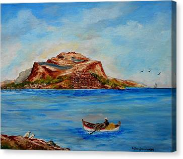 Monemvasia Canvas Print