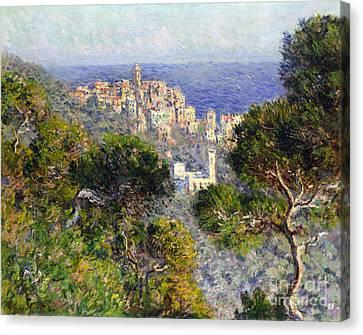 Monet: Bordighera, 1884 Canvas Print by Granger
