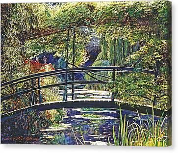 Monet Canvas Print by David Lloyd Glover