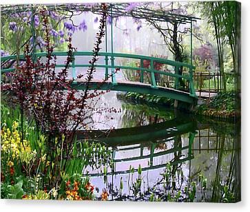Monet's Bridge Canvas Print by Jim Hill