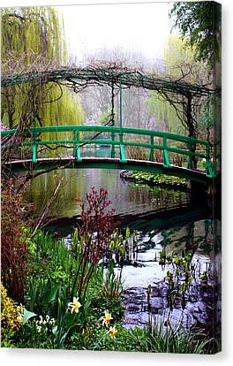 Monet's Magical Bridge Canvas Print