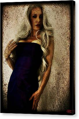 Monique 2 Canvas Print by Mark Baranowski