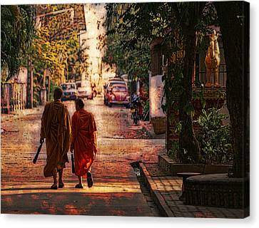 Monk Mates Canvas Print