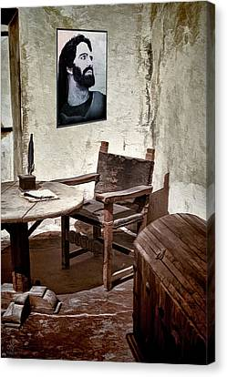 Monk's Cell Canvas Print by Pennie  McCracken