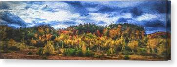 Monkton Ridge, Vt Canvas Print