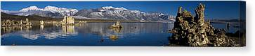 Mono Lake Pano Canvas Print by Wes and Dotty Weber