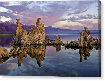 Mono Lake Sunset Canvas Print by Dave Dilli