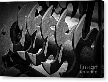 Canvas Print - Monochrome Blades by Chalet Roome-Rigdon