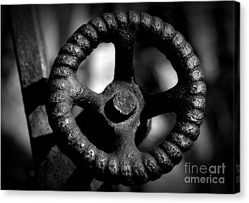 Canvas Print - Monochrome Knob by Chalet Roome-Rigdon