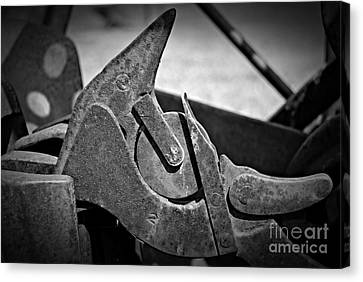 Canvas Print - Monochrome Mechanism by Chalet Roome-Rigdon