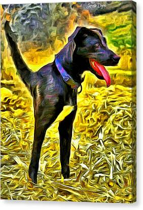 Monodog - Pa Canvas Print