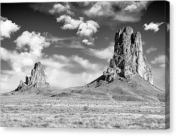 Canvas Print featuring the photograph Monoliths by Jon Glaser