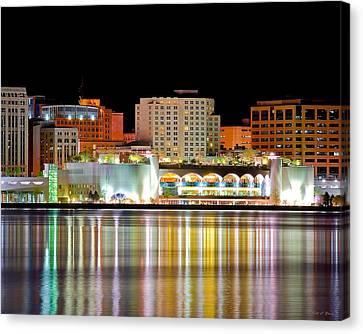 Monona Terrace Reflections Canvas Print