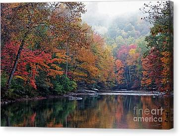 Williams River Canvas Print - Monongahela National Forest by Thomas R Fletcher