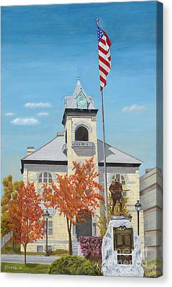 Monroe County Courthouse Canvas Print