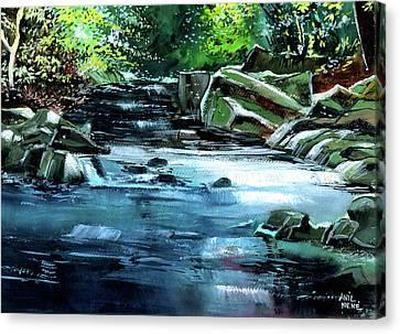 Monsoon Canvas Print by Anil Nene