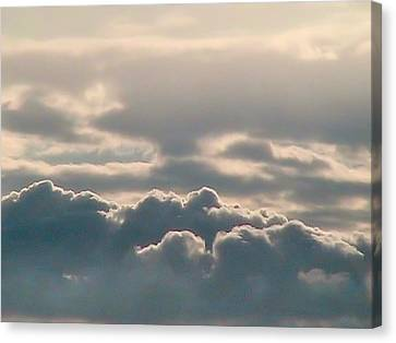 Monsoon Clouds Canvas Print